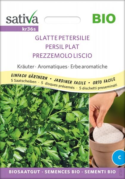 Glatte Petersilie, Biosaatgut