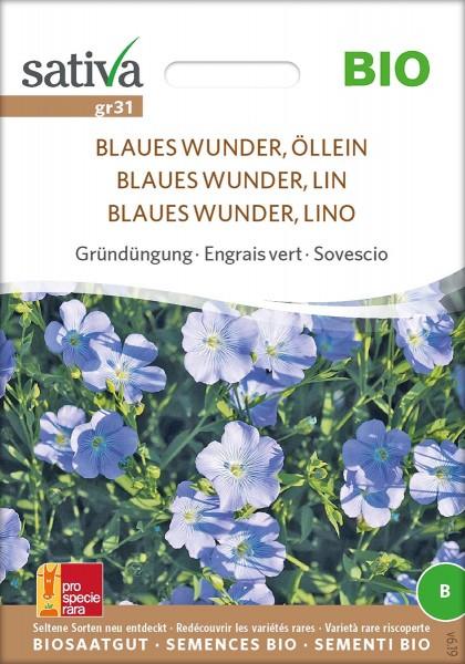 Blauer Lein/ Öllein BIO Samen