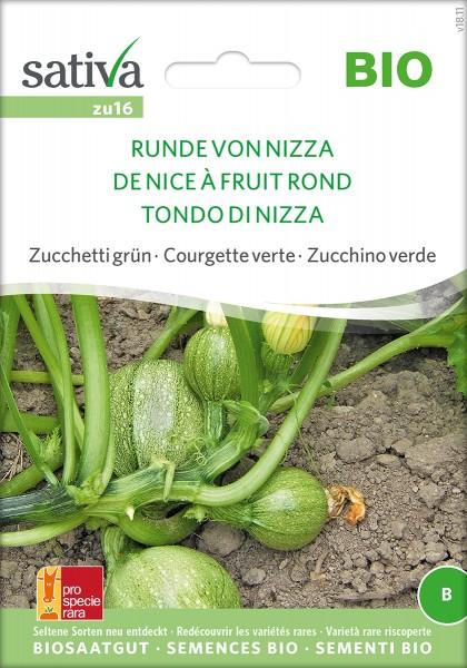 Zucchini 'Runde von Nizza' Samen