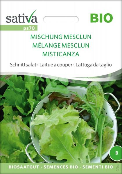 Schnittsalat 'Mischung Mesclun' BIO Samen