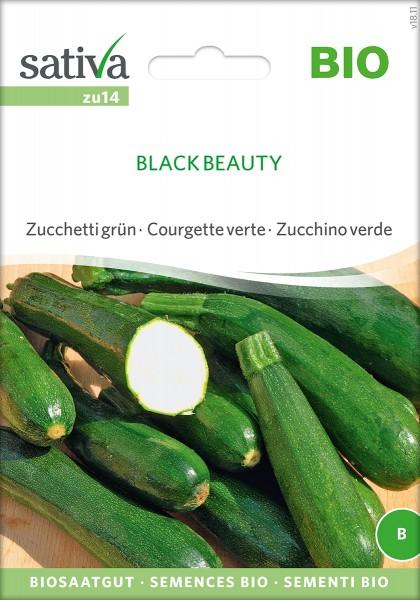 Zucchini Black Beauty' BIO Samen