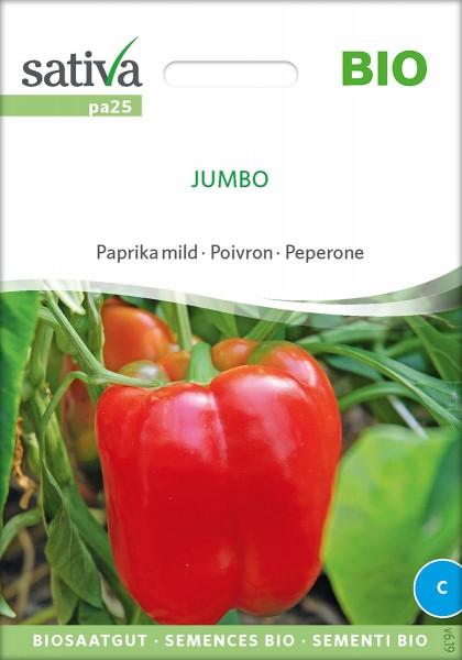 Paprika Jumbo Biosamen