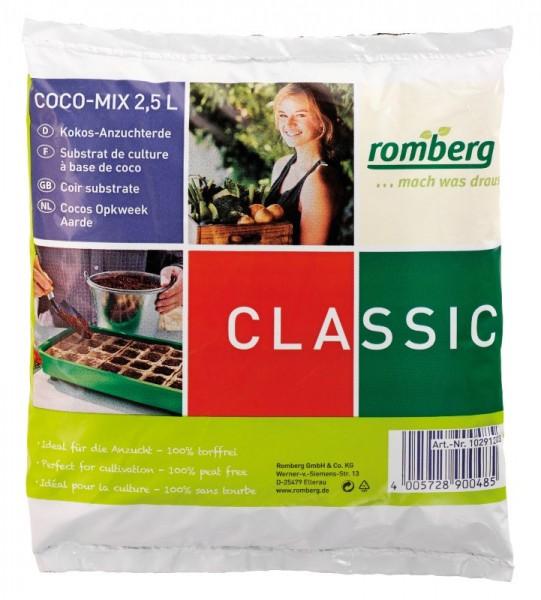 Kokos Anzuchterde 2,5 l Beutel von Romberg