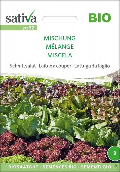 Schnittsalat 'Mischung' BIO Samen
