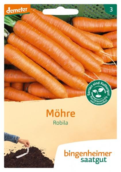 Möhre/ Karotte Robila BIO Samen