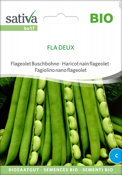 Bohne Fla Deux, BIO Samen von Sativa