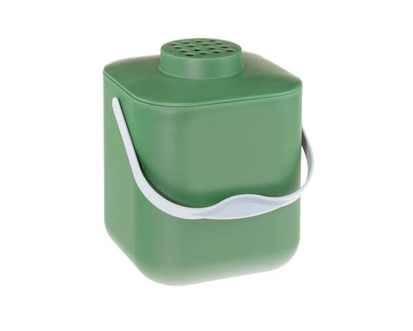 POT Kompostbehälter mit Deckel und Aktiv-Kohlefilter