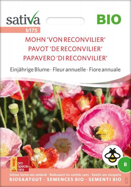 Mohn 'Von Reconvilier' Biosaatgut