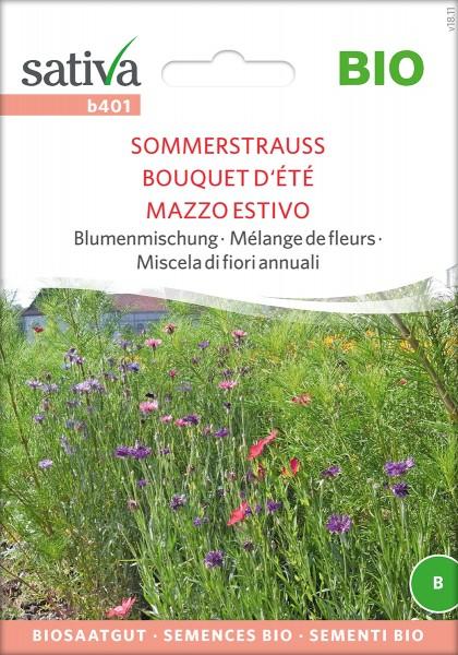 Sommerstrauß Blumenmischung - BIO Samen von Sativa
