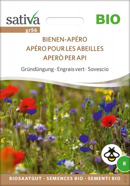 Bienen-Apéro - Blühstreifemischung - Gründüngung - Biosaatgut