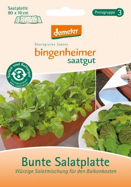 Bunte Salatplatte Biosaatgut