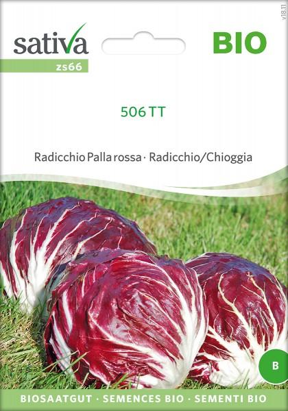 Zichorie 50TT 506 Radicchio Palla Rossa Bio Samen
