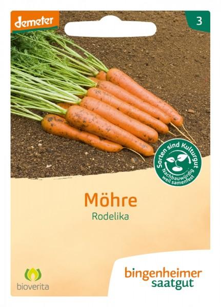 Möhre/ Karotte 'Rodelika', BIO Samen