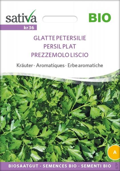 Glatte Petersilie, Bio Samen, Sativa