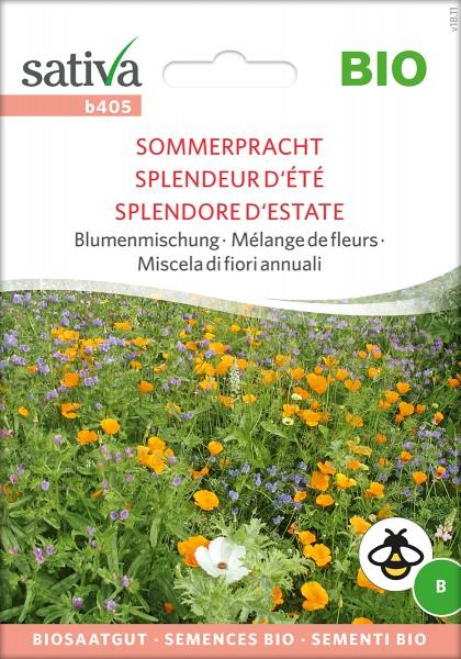 Sommerpracht Blumenmischung - BIO Samen von Sativa