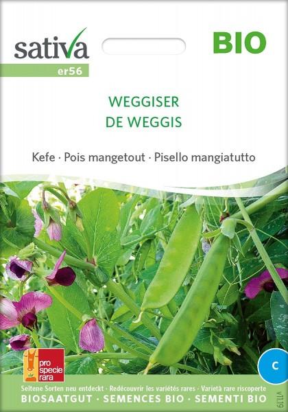 Zuckererbse Weggiser - Bio Samen