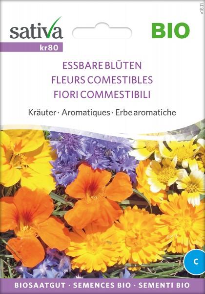 Essbare Blüten Bio Samen von Sativa