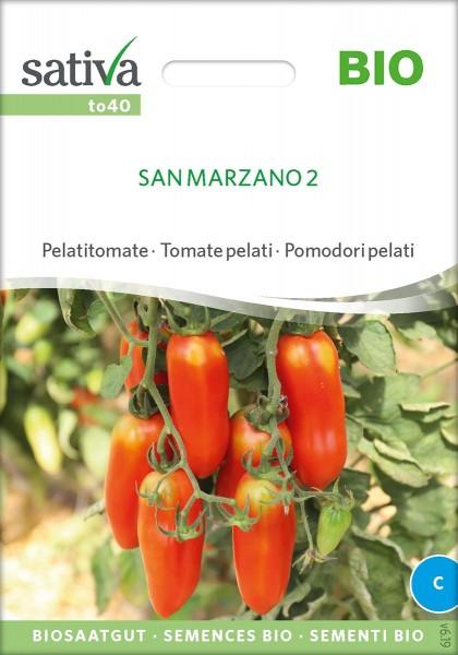 Pelati Tomate San Marzano 2 BIO Samen