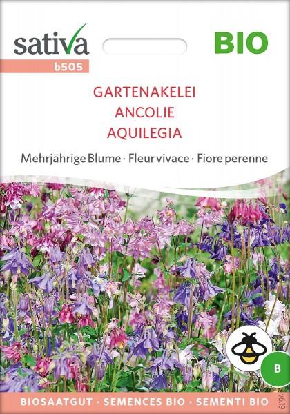 Garten Akelei, BIO Samen Sativa