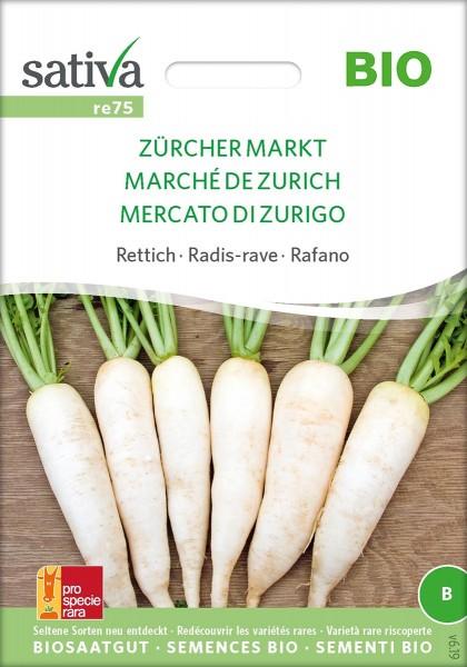 Rettich Zürcher Markt Biosamen